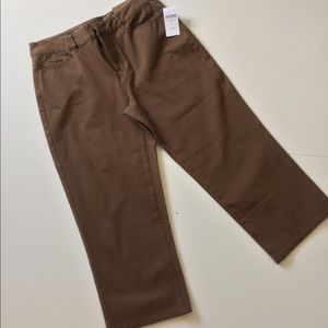 Cropped Pants Coldwater Creek New